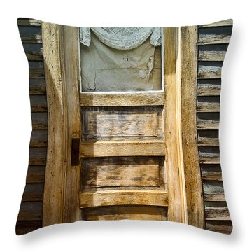 Doors Of St Elmo I Throw Pillow