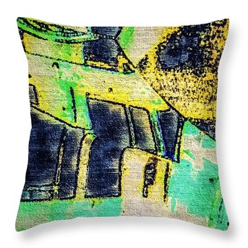 Doors Throw Pillow by William Wyckoff
