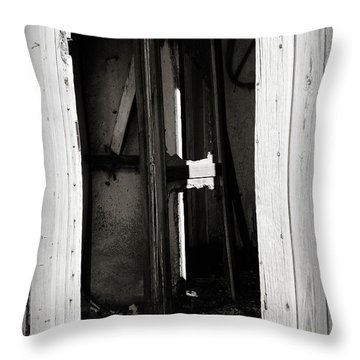 Doorway In Cuervo Throw Pillow
