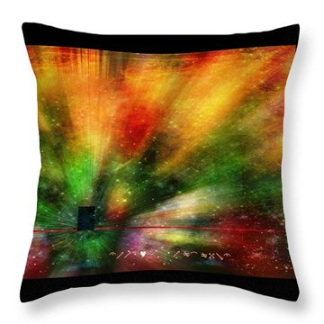 Throw Pillow featuring the photograph Doorway To My Mind by Diane Alexander