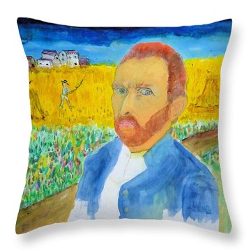 Doppelganger  Throw Pillow