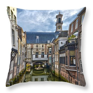Dordrecht Town Hall Throw Pillow
