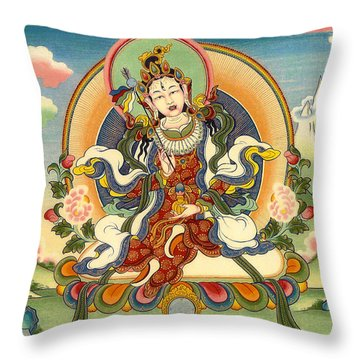 Dorje Yudronma Throw Pillow