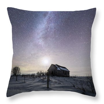 Throw Pillow featuring the photograph Dormant by Aaron J Groen
