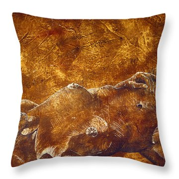 Dorothy Iv Throw Pillow by Richard Hoedl