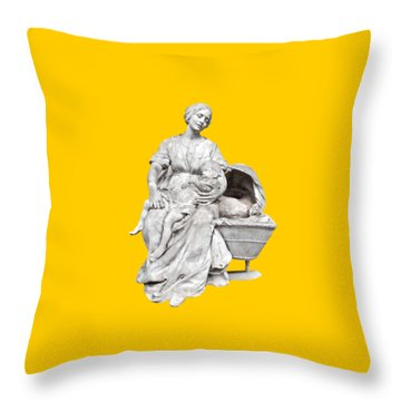 Dors, Min P'tit Quinquin Throw Pillow