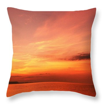 Dorset Delight Throw Pillow by Baggieoldboy