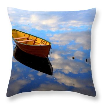 Dory In The Clouds Throw Pillow