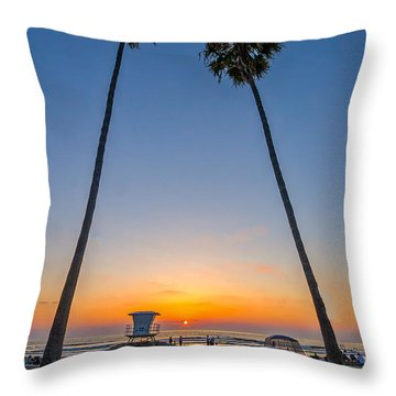Dos Palms Throw Pillow