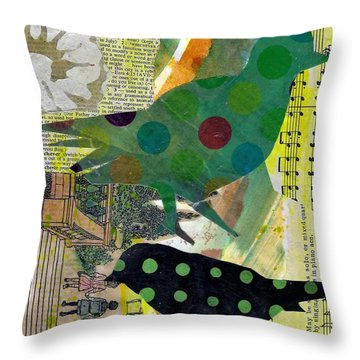 Dotty About You Throw Pillow