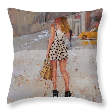 Dottie Throw Pillow