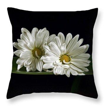 Double Delight Throw Pillow by Elsa Marie Santoro