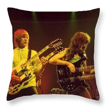 Double Double Throw Pillow