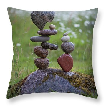 Double Fun Throw Pillow