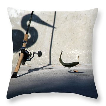 Double Jeapardy Throw Pillow by Lamarre Labadie