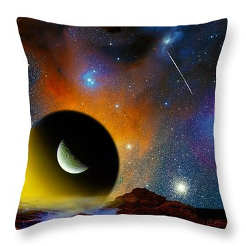 When I Consider The Heavens Throw Pillow