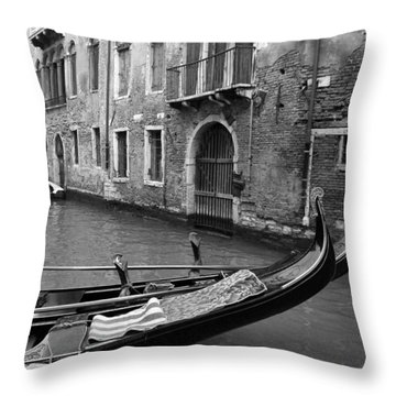 Throw Pillow featuring the photograph Double Parked by Donna Corless