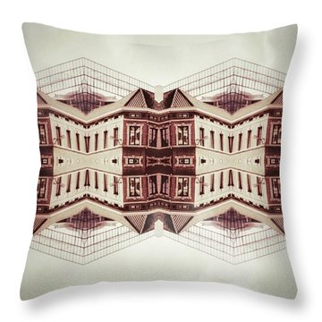 Double Side Throw Pillow by Jorge Ferreira