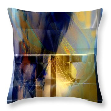 Double Structure Throw Pillow