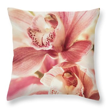 Double Sweetness Throw Pillow