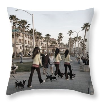 Double Take Throw Pillow by Bill Dutting