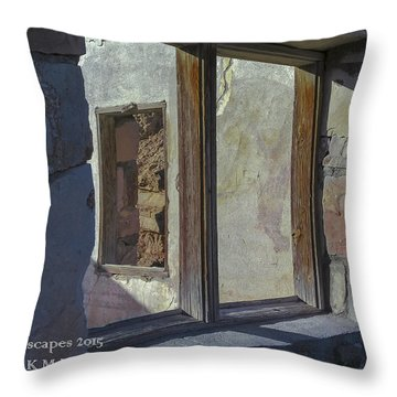 Throw Pillow featuring the photograph Double Take by Karen Musick