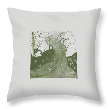 Double Up Wave Throw Pillow