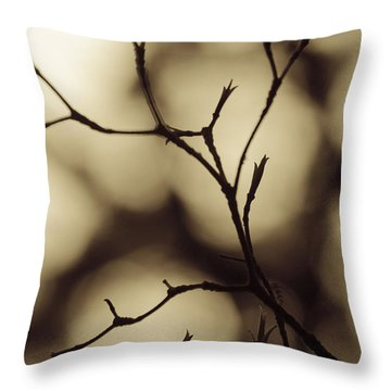 Throw Pillow featuring the photograph Double Vision by Tom Vaughan