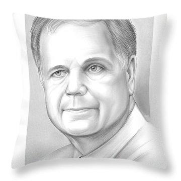 Doug Jones Throw Pillow