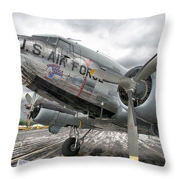 Douglas C-47 Skytrain Throw Pillow