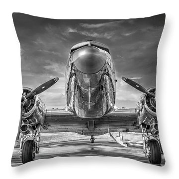 Douglas Dc3 Throw Pillow