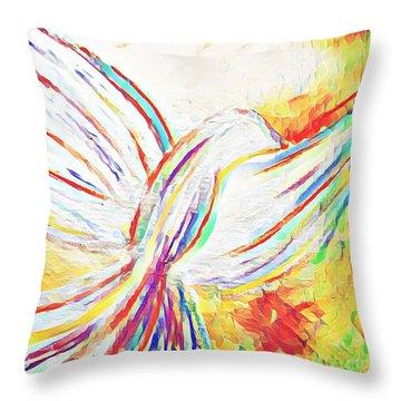 Holy Spirit Throw Pillow