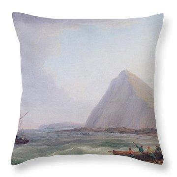 Dover Cliffs Throw Pillow
