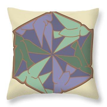 Doves Logo Color Throw Pillow