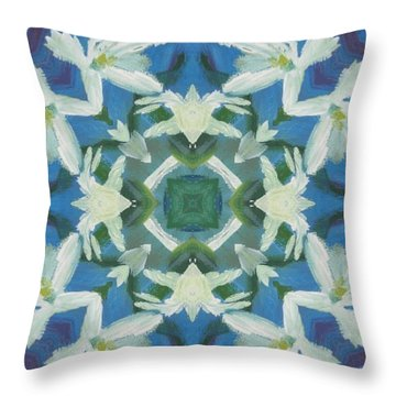 Doves Of Peace Throw Pillow