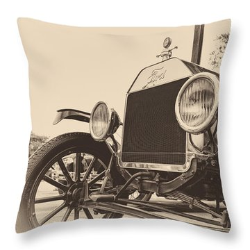 Throw Pillow featuring the photograph Down A Dusty Road by Caitlyn  Grasso