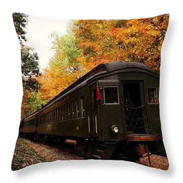 Down In Essex Ct To Get A Little Fall Throw Pillow
