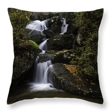 Down Stream Throw Pillow