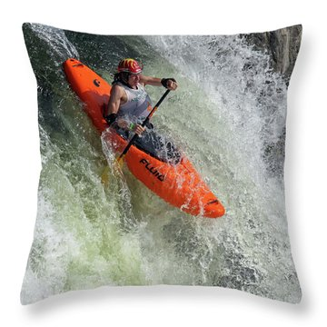 Down The Spout Throw Pillow