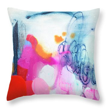 Down To Business Throw Pillow