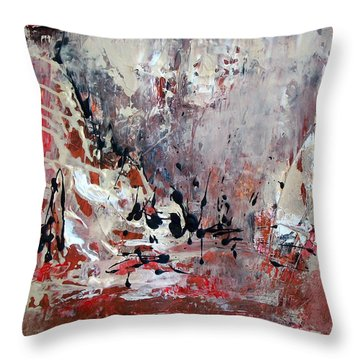 Downpour-2 Throw Pillow