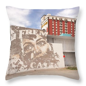 Downtown After Throw Pillow