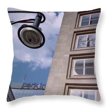 Downtown Berlin Throw Pillow