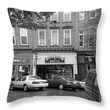 Downtown Cooperstown Ny  Throw Pillow