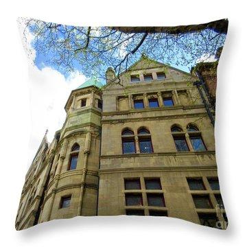 Downtown Dublin 3 Throw Pillow