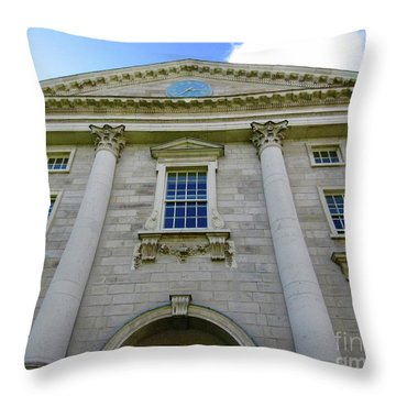 Downtown Dublin 5 Throw Pillow