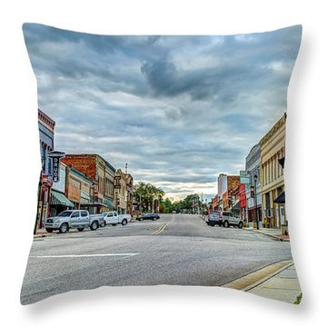 Downtown Hamlet Throw Pillow
