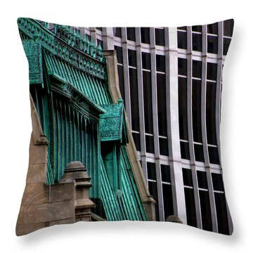 Downtown Indy Throw Pillow