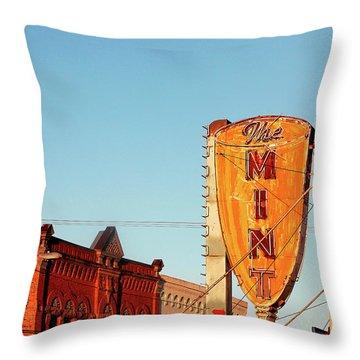 Downtown White Sulphur Springs Throw Pillow
