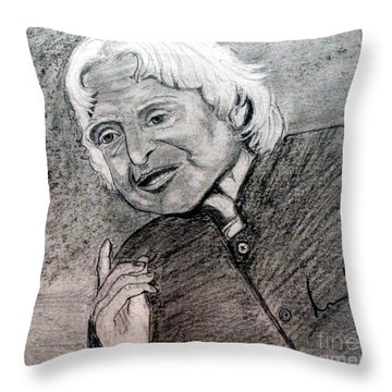 Dr. Abdul Khalam Throw Pillow